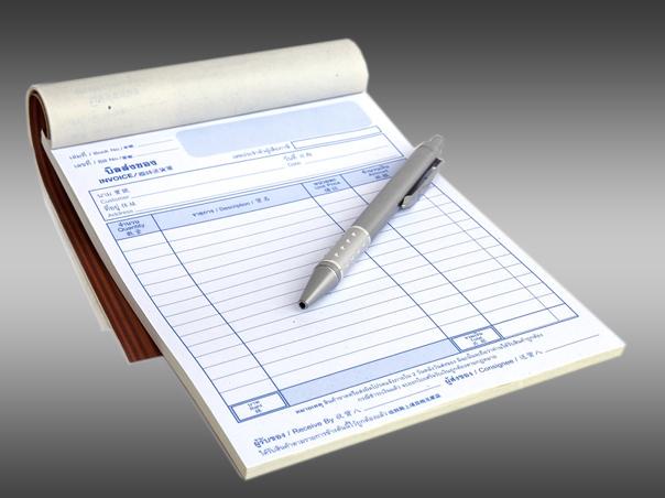 Invoice Pads Design Print Mab Printers - Invoice pads